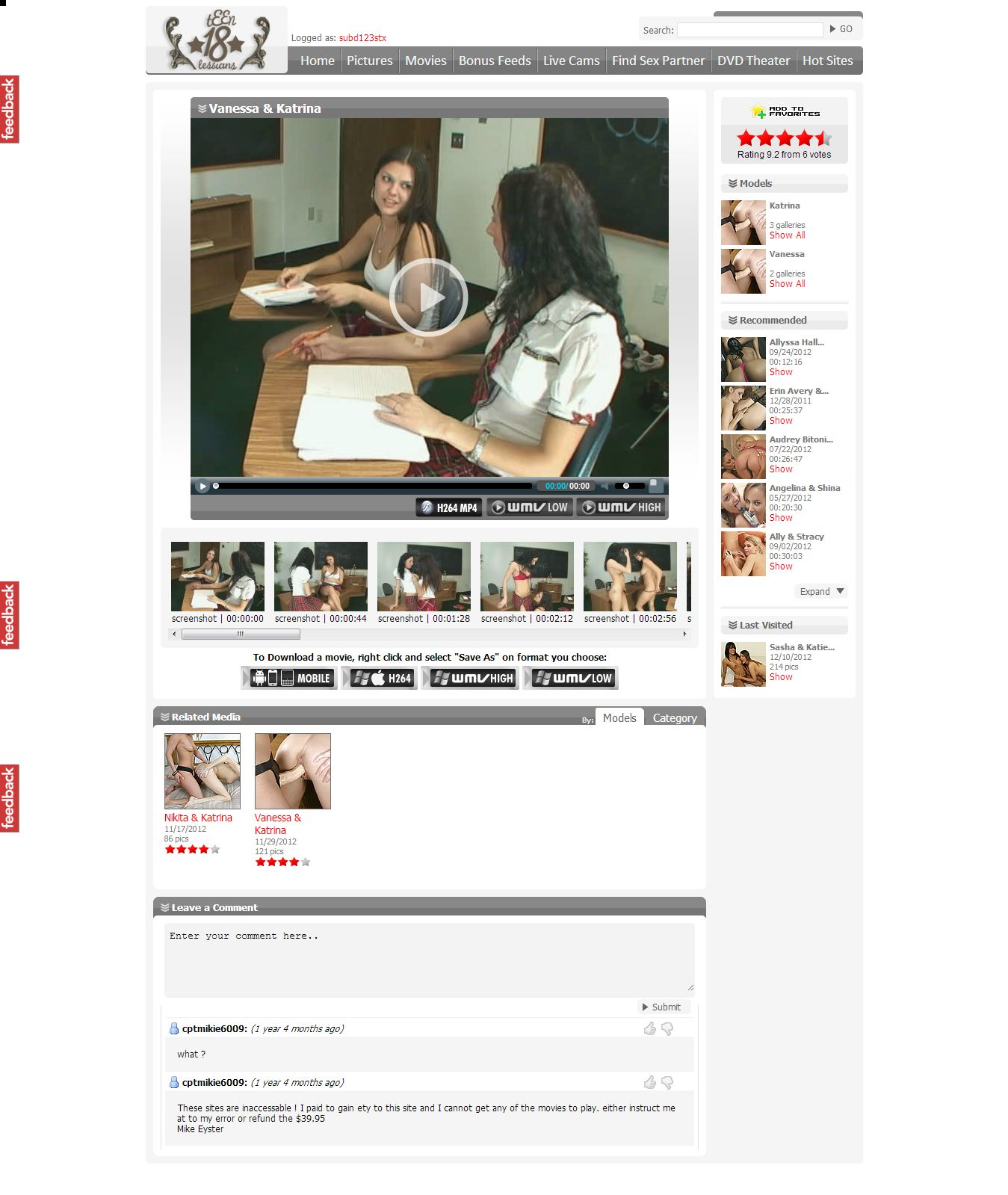 Lesbian Porn Free Videos Members 92
