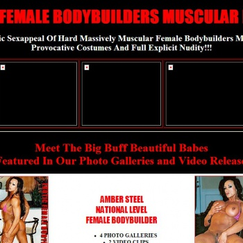 Erotic Female Bodybuilders