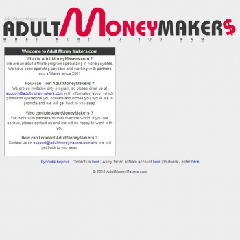 Adult Money Makers
