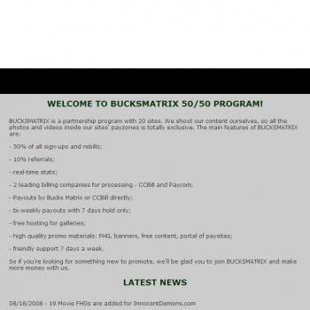 Bucks Matrix