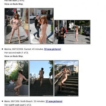 Nude In San Francisco