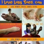 I Love Long Toes