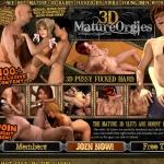 3D Mature Orgies