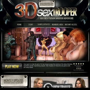 3D Sex Trooper