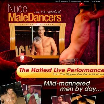 Nude Male Dancer