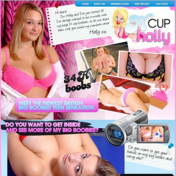 H Cup Holly