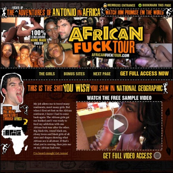African Fuck Tour