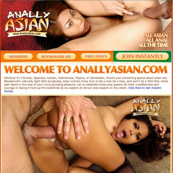 Anally Asian