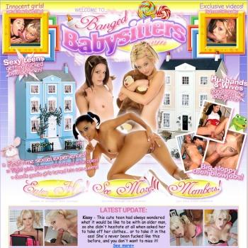 Banged Babysitters