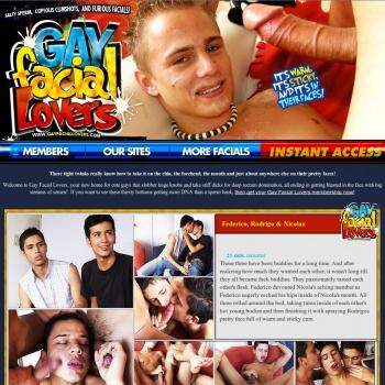 Gay Facial Lovers