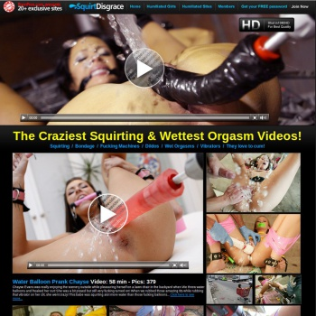 Squirt Disgrace