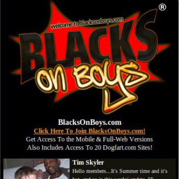 Blacks On Boys Mobile