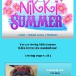 Nikki Summer Mobile