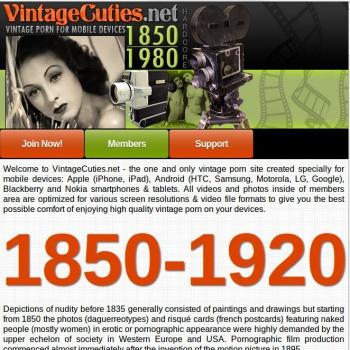 Vintage Cuties Mobile