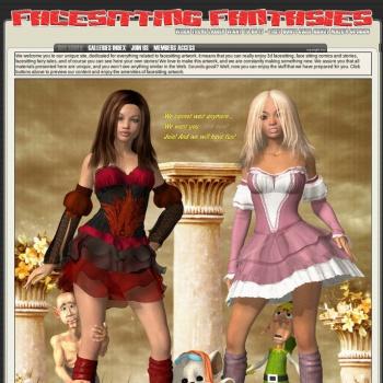 Facesitting Fantasies Comics