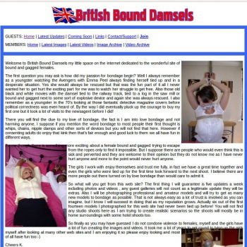 British Bound Damsels