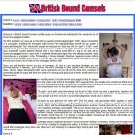 British Bound Damsels