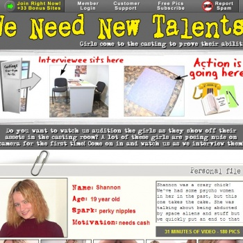 We Need New Talents
