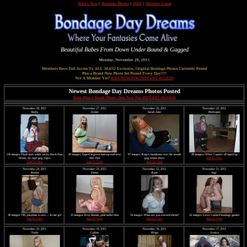Bondage Day Dreams