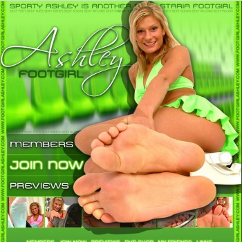Foot Girl Ashley