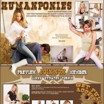 Human Ponies