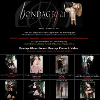 Bondage Glam
