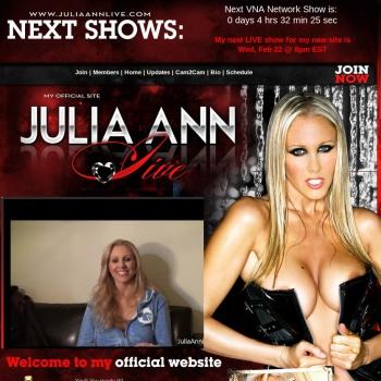 Julia Ann Live