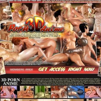 3D Porn Anime