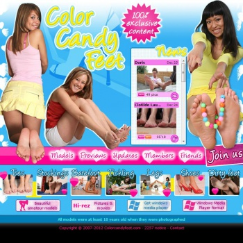 Color Candy Feet