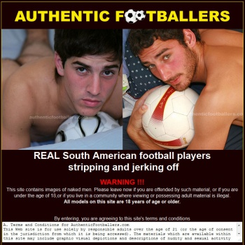 Gay authentic footballers argentina