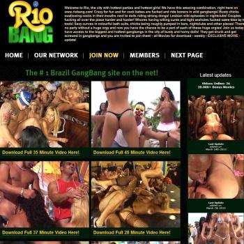 Rio Gangbang Orgy