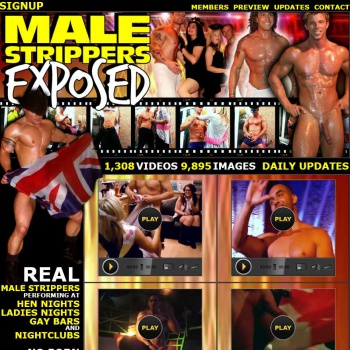 Male Strippers Exposed