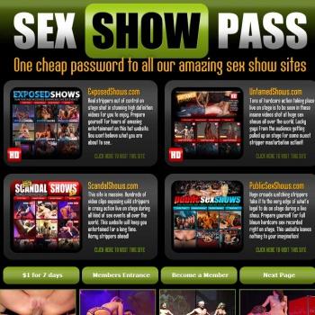Sex Show Pass