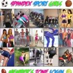 Spandex Sport Girls