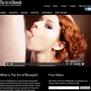 The Art Of Blowjob