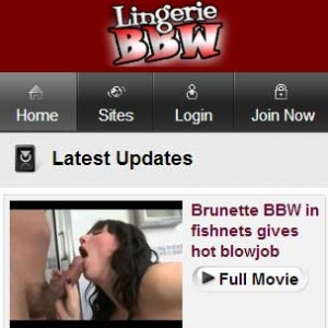 Lingerie BBW Mobile