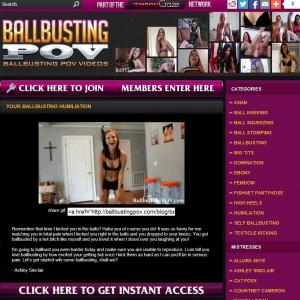 Ballbusting POV