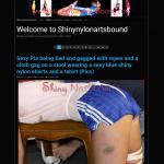 Shinynylonartsbound