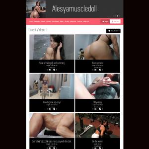 Alesya Muscle Doll