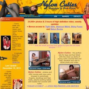 Video nylon girls 25 cuties