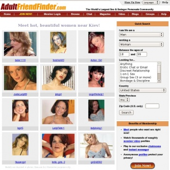 adultfriendfinder page standard log