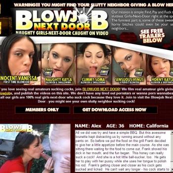 Story blindfold blowjob dildo