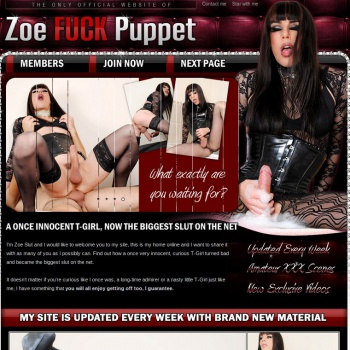 Zoe Fuck Puppet