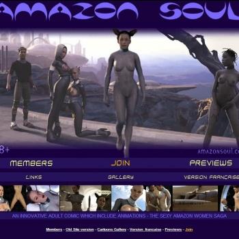 3D Amazon Soul