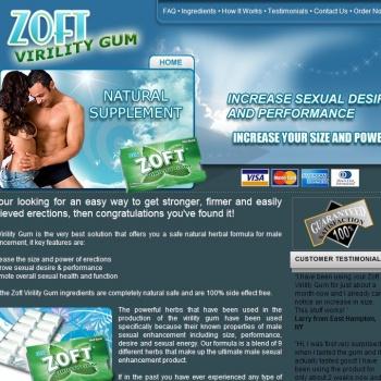 Zoft Virility Gum