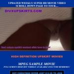 DivX Upskirts